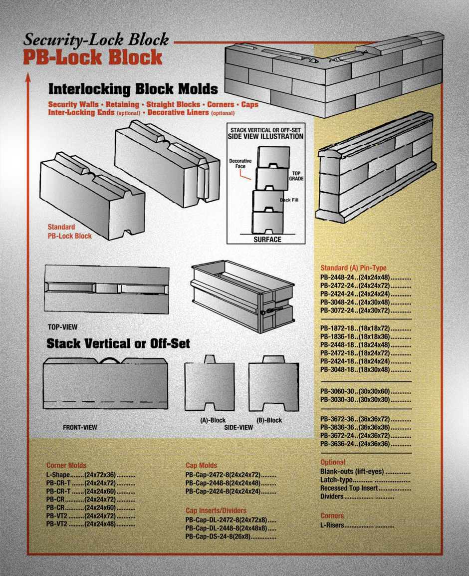 Retaining Wall Block Forms Tyres2c