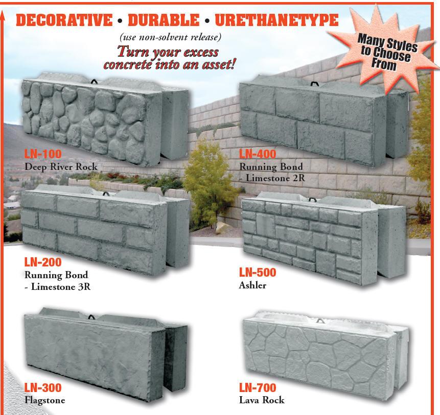 Leonard Marr, Inc. Block Forms - Decorative Liners - Wall ...